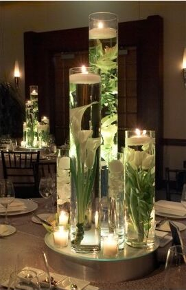 Picturelily Flower on Centerpieces
